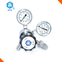Wholesale AFK Stainless steel L Piston High pressure co2 pressure regulator with pressure relief valve and CGA580