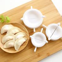 Wholesale Ravioli Mold - Wholesale- 3pcs Press Ravioli Dough Pastry Pie Dumpling Maker Gyoza Mold Tool 3 Size Easy Eco Friendly Dumpling Mould