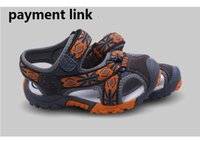 Wholesale Patent Sandals - Eva Store PK Primeknit Kid version Sandals Clogs shoe, free DHL Aramex or EMS over 2 pairs