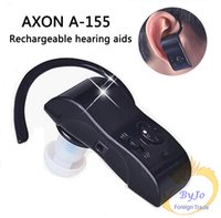 Wholesale Hearing Aid Fashion - Fashion Axon A-155 Hearing aid Small In The Ear Invisible Best Digital Hearing Adjustable Tone Sound Amplifier