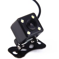 Wholesale waterproof night vision wide camera online - Universal IP67 Waterproof Rear View Camera Wide View Angle Car Back Reverse Camera RCA Night Vision Parking Assistance Cameras