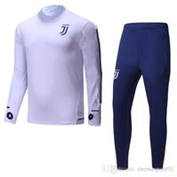 Wholesale Clothing Stops - TOP quality 17 18 NEW soccer training suit 2017 2018 Higuain Dybala Marchisio Pianic tracksuit Sportswear Set skinny jogging clothing