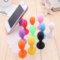 Universal Phone Holder Stander Monopod Celular Silicone Rubber Octopus Sucker Ball Stand Holders fofos suportes para celular