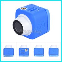 Wholesale Red Pocket Android - New Selfie Master Super Mini Compact Handheld Pocket Action Camera 120D Wide Angle Lens 720P Wifi Selfie Camera Compatible Android & IOS