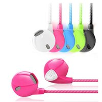 Wholesale Android Sweat - Portable HIFI Sport Earphones In Ear Mic Headset Waterproof And Sweat 3.5mm Stereo Earphone Super Bass Noise Isolatin Android IOS Cell Phone