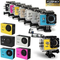 ingrosso migliore dv camera-La migliore fotocamera più venduta SJ4000 A9 Full HD 1080P 12MP 30M impermeabile Action Camera DV DV DVR da cardmate