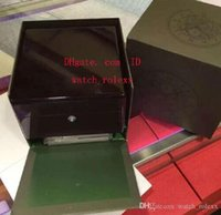 Wholesale 2824 Watch - Mens Inner Outer Original Wooden Box Watch Boxes Papers Swiss ETA 7750 Cal.3120 15710 9105 15703 2824 3135 2836 2831