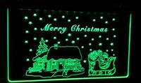 LD002-g-Merry-Christmas-Neon-Light-Sign Decor Livraison gratuite Dropshipping Vente en gros 6 couleurs à choisir