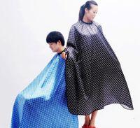 les coiffeurs achat en gros de-Livraison gratuite pour couper les cheveux Cut Salon Styliste Cap Nylon Tissu Barber grande cape de cheveux