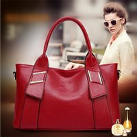 Wholesale Drop Shipping Purses - 2017 Autumn and winter new handbag Clemence ladies leather women's handbags leather PU purses drop shipping