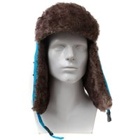 9362cb07344 2017 New Winter Warm trapper hat Ear Flaps Bomber Faux Fur Caps Unisex  Proof Trapper caps Snow Cap Russian Hat 77