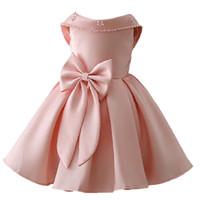 yapraklar çocuklar giyim toptan satış-Petal hem Kızlar Kızlar için Düğün elbise infantil Fantezi prenses elbise kız elbise tutu elbiseler yaz çocuklar kız parti dres