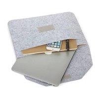 elma hava kitabı toptan satış-Yeni Moda Yumuşak Kol Çantası Kılıf Apple Macbook Hava Pro Retina 15 Mac kitap 13.3 Için Laptop Anti-çizik Kapak inç