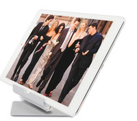 Wholesale Flat Panel Computers - Hot sell 360 degree rotating aluminum flat panel computer stand Mobile phone metal bracket