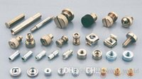 Wholesale Bolt Nut Types - 50pcs HEXAGON TYPE Blue zin NZ-M6-4 A large number of inventory Non-standard parts can be customized