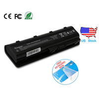 Wholesale Hp G6 Laptop Battery - HP Laptop Battery Replacement for 593553-001 593554-001 MU06 MU09 G32 G42 G42T G56 G62 G72 G4 G6 G6T G7 with gift wholesale US Stock