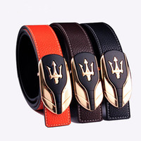 Wholesale Mens Logo Belts - Hot Sales Popular Fashion Leather Mens Belts Unique Logo Designer Belts Men High Quality Belts Strap Offer Free shipping