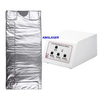 Wholesale Home Heat - 3 zone thermal heating infrared light lymphatic drainage sauna blanket home salon use beauty machine