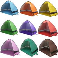 tentes familiales livraison gratuite achat en gros de-Tente de camping familiale ouverte anti-UV entièrement à l'ombre du soleil randonnée camping famille tentes pour 2 personnes livraison gratuite WX-P11
