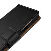 Wholesale Leather Cases For Galaxy S4 - GENUINE Wallet Credit Card Stand Leather Case For SAMSUNG GALAXY A3 A5 J1 ACE J2 J310 J510 S4 Active i9295 CORE Prime G360 Xcover 3 G388F 50