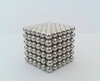 Wholesale Wholesale Magnetic Balls 5mm - 5mm 3mm 216pcs Neo Cube Magic Puzzle Metaballs Magnetic Ball With Metal Box Magnet Magic Toys