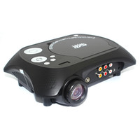 Wholesale Led Projector Native Full Hd - Wholesale-smart mini portable led full hd video projector for home theater TV beamer 480 x 320 Native Resolution With DVD Player