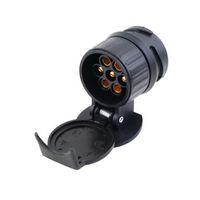 adapterleisten großhandel-Anhängerkupplung Buchse Auto Anhänger LKW 13 Pin auf 7 Pin Stecker Adapter Konvertieren