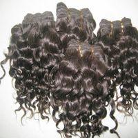 Wholesale Black Discount Human Hair - BIG Discount Amazing factory price 100% human brazilian hair deep curly texture 10 inch 10pcs lot short inch
