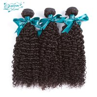 Wholesale Cheap Curly Brazillian Hair - Good Cheap Natural Curly Hair Extensions Brazillian Kinky Curly Virgin Hair 3 Pcs Lot Free Shipping 7a Unprocessed Virgin Brazilian Hair