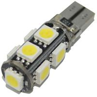 Wholesale Wedge Base Led Bulbs - 100pcs T10 9 5050 SMD LED Bulbs Canbus Error Free Led Wedge Base for Auto Car Interior Lamp 501 W5W 194 Courtesy Light