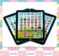 Wholesale Kids Ipad Tablet - Electronic Childrens Tablet Computer Ipad Kids Educational Play Read Game Toy Childrens Tablet Computer Ipad Kids Educational