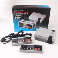 Wholesale Games Console Android Free Dhl - Mini TV Handheld Game Console Video Game Console For Nes Games with 500 Different Built-in Games PAL&NTSC Free DHL