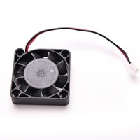 Wholesale Laptop Heatsink Fan - Wholesale- 1PC Black 4CM Laptop Cooling Fan DC 12V 2Pin 40x40x13mm For Computer PC GPU CPU Heatsink Cooler 9 Blades Mini Fan