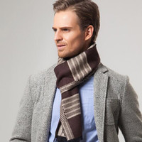 Fashion cashmere scarf mens vintage - Vintage Mens Stripes Scarves Cashmere Scarves For Gentleman CM Business Gift Winter Casual Warm Wraps With Top Quality
