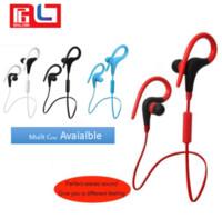bt stereo kulaklık toptan satış-Yüksek Kalite Yeni Model BT-1 Handsfree Kablosuz Stereo Spor Kulaklık Cep Telefonu Için CSR4.1 Bluetooth Kulaklık Ücretsiz kargo