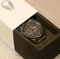 Wholesale Digital Matte Box - NX luxury Gunmetal Matte Black mens watch quartz 51-30 a083-1062 waterproof chronograph a0831062 wristwatch + original box