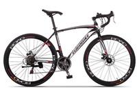 Wholesale Blue Disc Brake - XC550 road bike 21 speed bicycle EUROBIKE 700C steel bike disc brake Racing Bike 160-185cm rider