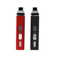 Wholesale Huge Silicon - Titan 2 Vaporizer Kit Hebe Dry herb Vaporizer Pen 2200mah With LED Display Screen Huge Vapor E Cigarette kits