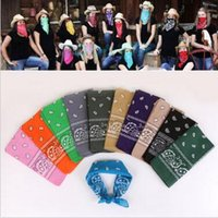 Novedad Ciclismo Magic Anti-UV Headband 100% Algodón Paisley Diseño Bufanda Hip Hop Multifuncional Bandana Wristband Headscarf CCA6204 10000pcs