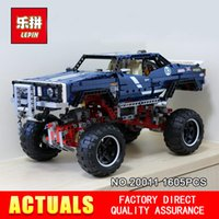 Wholesale Plastic Toy Road - LEPIN 20011 Technic series Super classic limited edition of off-road vehicles Model Building blocks Bricks Compatible Toy 41999