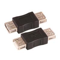 ingrosso cambio del usb-ZJT47 F / M Changer Adapter Converter USB Femmina a Femmina Connettore adattatore tipo USB 2.0