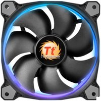Wholesale Computer Fan Controllers - ThermalTake 12cm PWM fan Riing 120 RGB and manual controller for computer case
