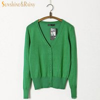 Wholesale Cashmere Sweaters Women S Clothing - Wholesale-New Spring candy color sweater style people character print embroidery cashmere woman fashion clothing kint sweater cardigan
