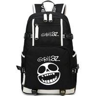 Wholesale Music School Bag - Gorillaz backpack Hip hop band daypack ChakaKhan fans schoolbag Music rucksack Sport school bag Outdoor day pack