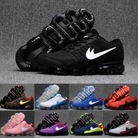 Wholesale Cushion Casual Shoes For Men - Free Shipping Air Cushion 2018 KPU Casual Shoes Men Women For Cheap Outdoor High Quality Training 2018 Plastic Running Shoes Size 5.5-13