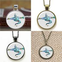 Wholesale Art Easter - 10pcs Genie Aladdin Art Glass Photo Necklace keyring bookmark cufflink earring bracelet