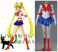 Wholesale Sailor Moon Costumes Kids - Sailor Moon cosplay Tsukino Usagi costume cosplay halloween costumes