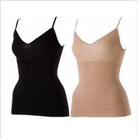Wholesale Slimming Camisole Shapewear - Wholesale- Women's Body Slimming Camisole Shaper Underwear Shapewear Vest black and Beige