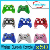 Wholesale Xbox Game Wholesale - 50pcs Xbox Wireless Controller Arrival Game Pad Joypad Controller for Microsoft Xbox 360 Wireless Gamepad Game YX-360-01