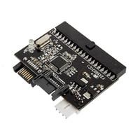 hdd dönüştürücü toptan satış-Toptan-2 in 1 Dönüştürücü SATA IDE Converter / IDE için SATA Adaptörü DVD / CD / HDD